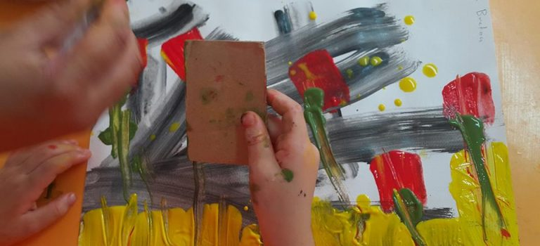 Atelier Art thérapie du 21 Août au Centre Yasmine Breton (photos)