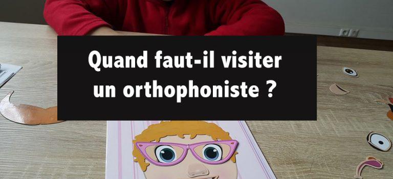 Quand faut-il visiter un orthophoniste ?