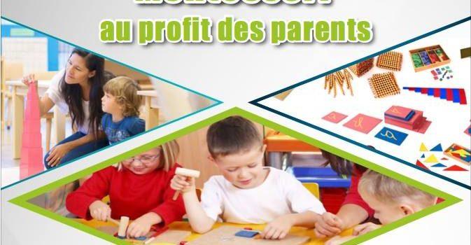 Formation Montessori à salé à partir du 4 Mars